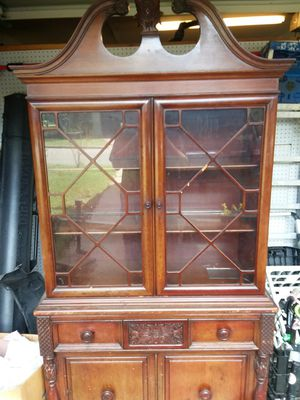 Antique China Cabinet 50's for Sale in Georgetown, TX