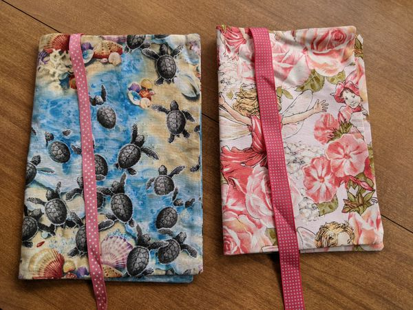 Paperback cloth book covers, $4 each