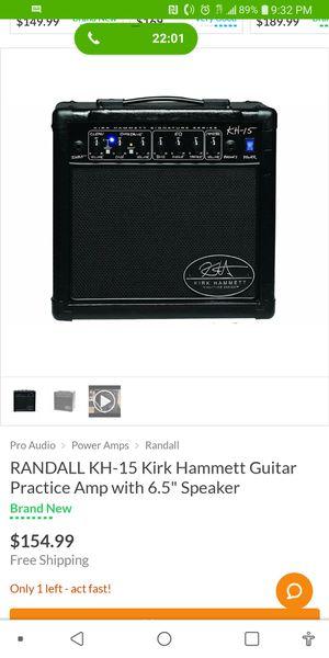 Randall Kirk Hammet Signature Series KH15 Combo Amp for Sale in Orlando, FL