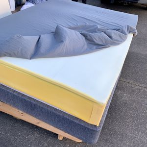 IKEA Hesstun Queen 12inch Mattress And Box Spring for Sale in Tacoma, WA