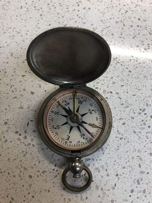 Vintage Compass In Working Condition