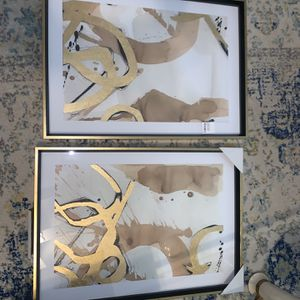 Framed Paintings (set of 2) , Brand New, Tags Still On for Sale in Houston, TX