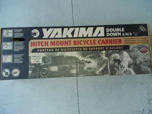 Yakima Double Down 4 bike carrier w/ hitch lock LOWER PRICE for Sale in St. Cloud, FL