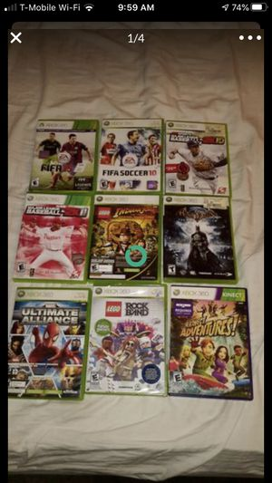 Xbox 360 games for Sale in Anaheim, CA