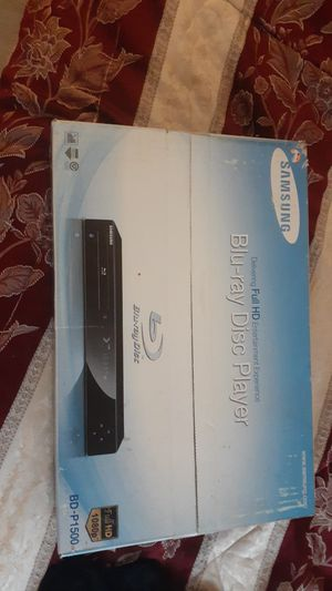 Samsung blu-ray player new in box for Sale in Riverside, CA