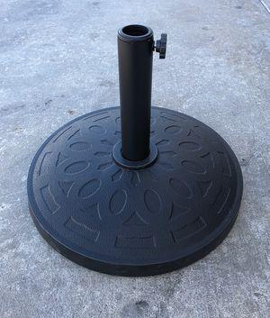 "New $22 Umbrella 18"" Base Stand Patio Outdoor Heavy Duty Market Garden, Weight: 31 lbs for Sale in South El Monte, CA"