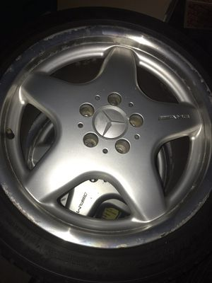 17 inch Amg rims for Sale in Laurel, MD
