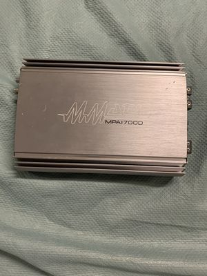 MMATS mpa1700d amp for Sale in Irwindale, CA
