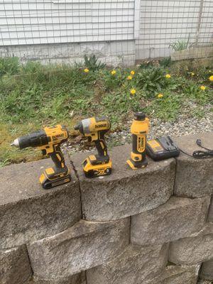 Dewalt 20v XR set for Sale in Seattle, WA