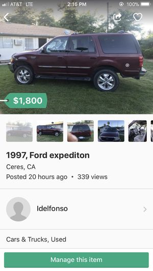 1997 Ford Expedition for Sale in Ceres, CA