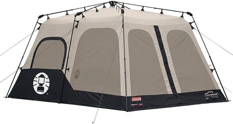 Black 8 Person Tent Outdoor Camping Use for Sale in Los Angeles,  CA