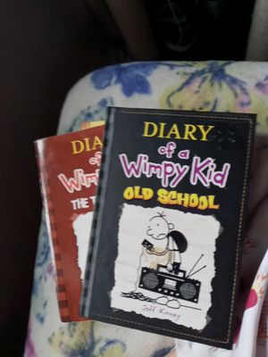 Diary Of A Wimpy Kid books 4,7,and 10 for Sale in NJ, US
