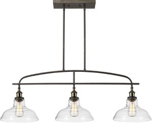 CLAXY Ecopower Kitchen Linear Island Pendant Lighting Vintage Lamp Chandelier for Sale in Ontario, CA