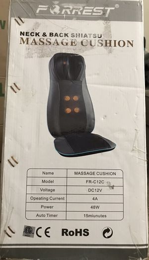 Neck and Back Massage Cushion for Sale in Leesburg, VA