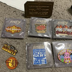 Lot Of Firefly Branded Pins for Sale in Oviedo, FL