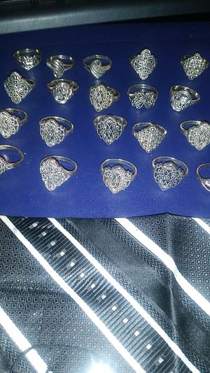 925 sterling silver rings all designs for Sale in Chillum, MD