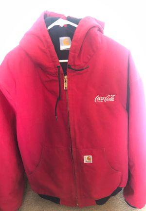 Red Coca Cola Carhartt xl coat for Sale in Las Vegas, NV