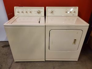 Kenmore washer and electric dryer set good working condition set for $249 for Sale in Denver, CO