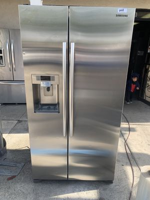 Samsung side by side fridge stainless steel 2019 for Sale in Industry, CA