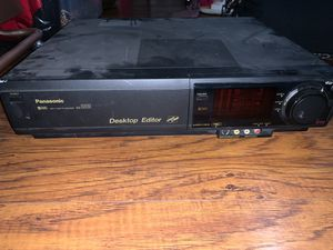 Panasonic AG-1980 S-VHS SVHS Super VHS Player Recorder Deck PRO TBC VCR ORC LN for Sale in Norwalk, CA