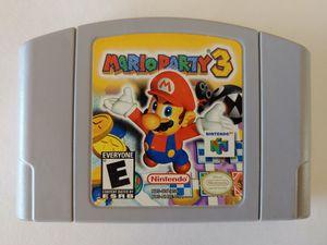 Mario Party 3 Nintendo 64 for Sale in Los Angeles, CA