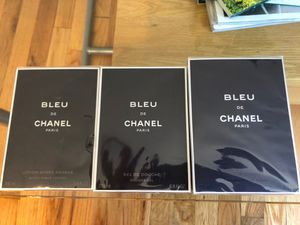 Bleu de CHANEL for Men ORIGINAL SET for Sale in Brooklyn, NY