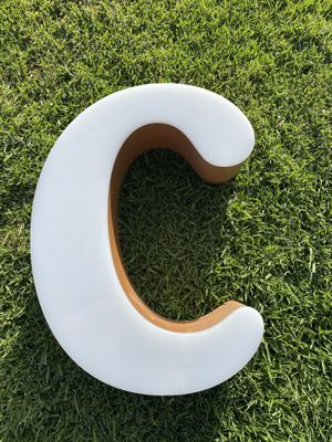 Vintage Letter C sign. for Sale in Newport Beach, CA