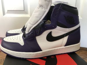 "Nike Jordan 1 OG High ""Court Purple"" sz 9.5 for Sale in Los Angeles, CA"