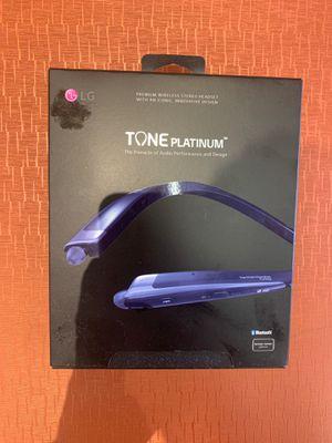 LG Tone platinum wireless headphones for Sale in Edina, MN