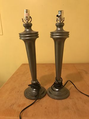 Silver lamps for Sale in High Point, NC