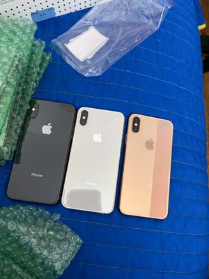 iPhone XS 64GB Fully Unlocked 500 each for Sale in Bethesda, MD