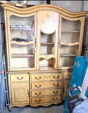 Antique Fine China Cabinet for Sale in Miami, FL