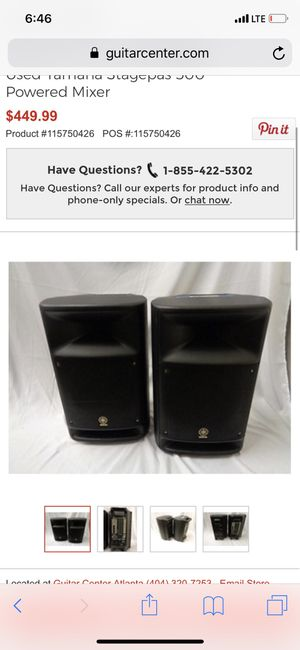 Yahama PA system for Sale in Oakland, CA