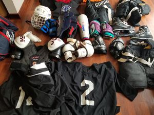 Hockey gear used. for Sale for sale  HOFFMAN EST, IL