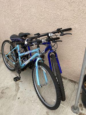 Used huffy bikes men and women's for Sale in Bellflower, CA