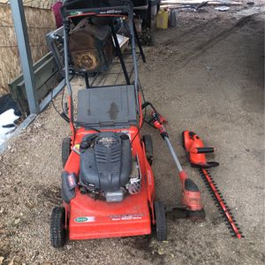 Mower ,Dreamer and wrecker for Sale in Colorado Springs, CO
