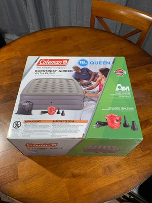Coleman Queen Air Bed w/ Pump for Sale in San Jose, CA