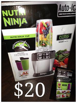 Nutri ninja blender for Sale in Brea, CA