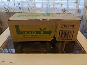 Kyocera TK-552Y Toner Kit Yellow for Sale in Clayton, NC