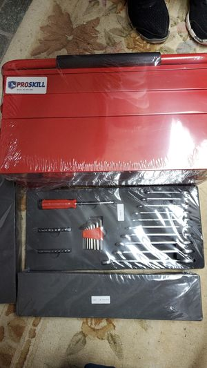 Pro skill tool box set for Sale in WILKINSONVILE, MA