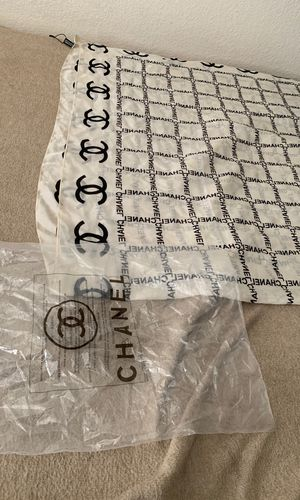Chanel Scarf w/ original package bag for Sale in Glendale, AZ