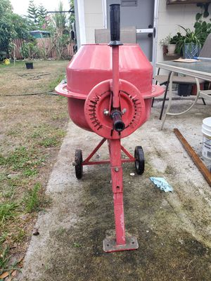 Central Machinery, Mini Cement Mixer for Sale in Kissimmee, FL