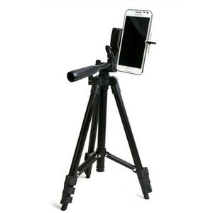 """46"""" Portable Professional Adjustable Camera Tripod Stand Mount + Cell Phone Holder for Apple iPhone and Android phones for Sale in Ontario, CA"""