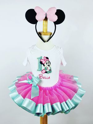 Minnie Mouse Tutu Set with Ears STARTING @$55 for Sale in San Antonio, TX