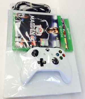 XBOX ONE S MODEL # 1681, ONE CONTROLLER ( INCLUDING 2 GAMES ) for Sale in Denver, CO