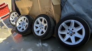 17 x8,5 OEM BMW rims. New tires for Sale in Riverside, CA