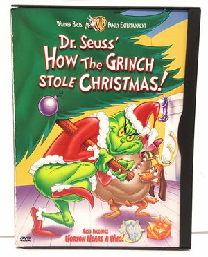 Dr. Seuss How The Grinch Stole Christmas dvd for Sale in Miramar, FL