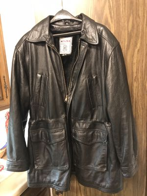 Men's Leather Lined Coat for Sale in Hughesville, PA