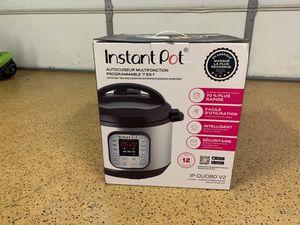New instant pot IP-DU080 V2 for Sale in Montclair, CA