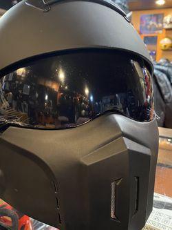 New Motorcycle Dot Matte Black Helmet (scorpion Covert Style ) $120 for Sale in Whittier,  CA